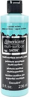 product image for DecoArt Americana Multi-Surface Satin Acrylic Paint, 8-Ounce, Coastal Waters