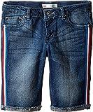 Levi's® Kids Girl's Sideseam Bermuda Shorts (Big Kids) Repurposed 14