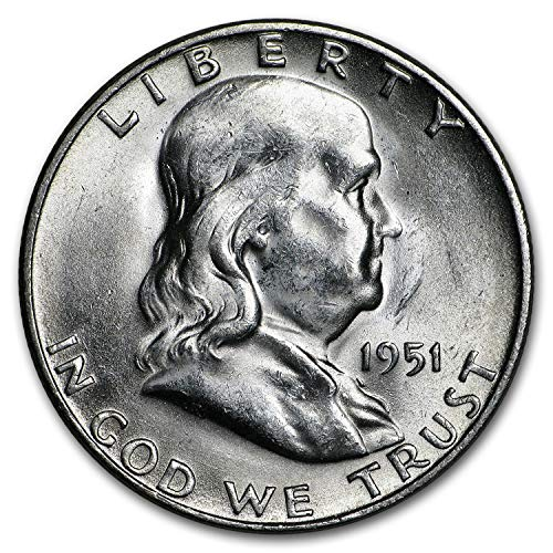 1951 S Franklin Half Dollar AU Half Dollar About Uncirculated ()