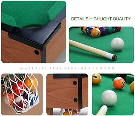Super Black Bull El Juego de Billar Mini Tabletop Pool Set Incluye ...