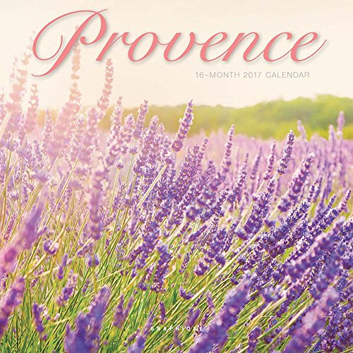 Provence 2017 Small Wall Calendar Photo #1