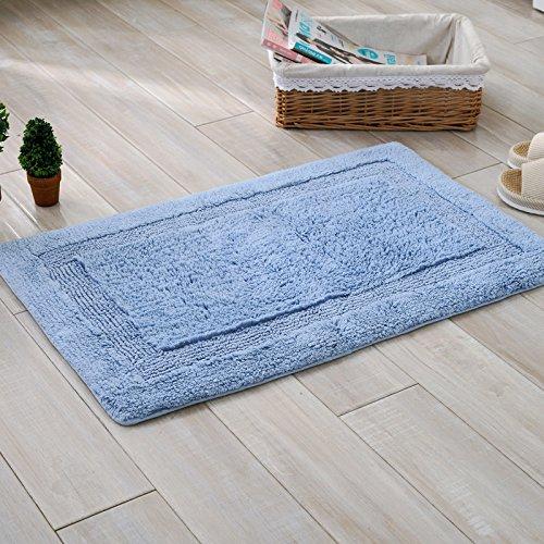 Cotton mats floor mats cotton kitchen living room door mats carpeted bathroom -4060cm e by ZYZX