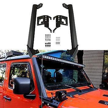 Amazon Com Lantsun 52 Led Light Bar Mounting Brackets