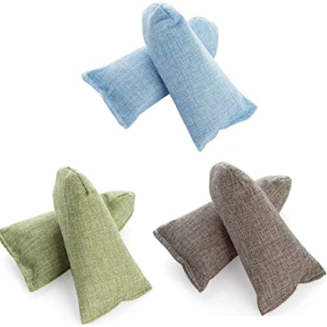 Bolsas de carbón de bambú HomeFairy, bolsas purificadoras de ...