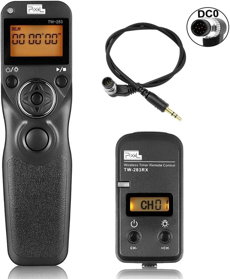 Pixel TW-283 DC0 - Disparador inalámbrico con Cable para cámara ...