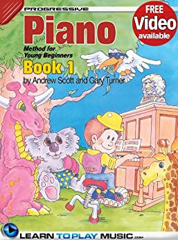 piano lessons for kids book 1 how to play piano for kids free - Kids Book Pictures