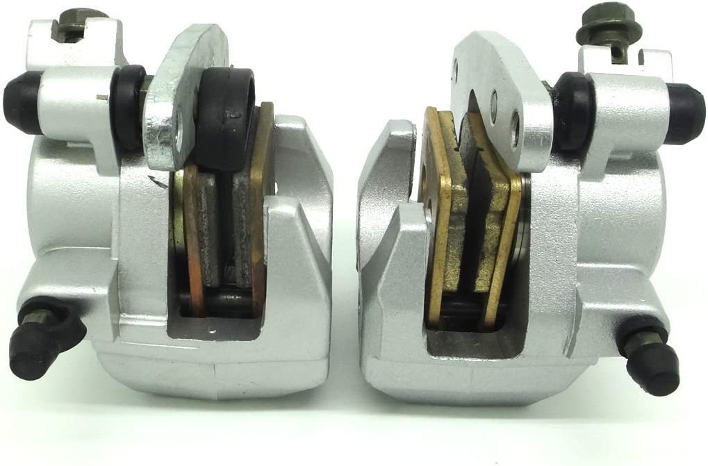 Front Brake Caliper Set For YAMAHA GRIZZLY 600 YFM600F 1998-2002 WITH PADS ym-36