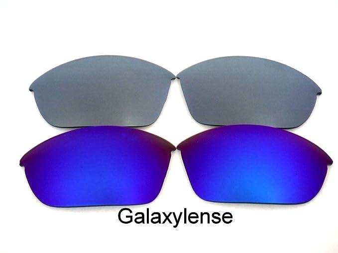 Galaxia Lentes De Repuesto Para Oakley Half Jacket 2.0 POLARIZADO AZUL Y  GRIS - Transparente, 3fe35f7176