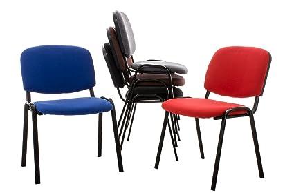 Sedie Ufficio Impilabili : Clp set sedie conferenza ken in tessuto sedie impilabili con