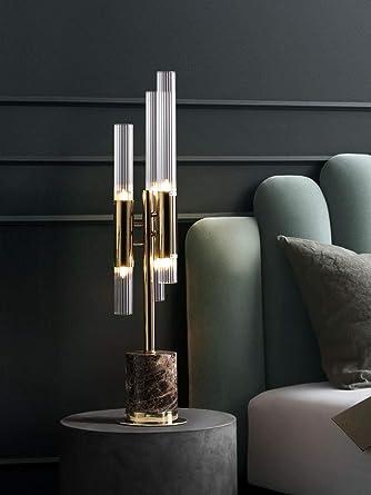 Lámpara de mesilla moderna Lámpara de mesa Mármol de alta gama ...