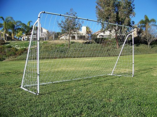 Display4top Soccer Goal 12' X 6' Football Goals W/net Straps, Anchor Ball Training Sets