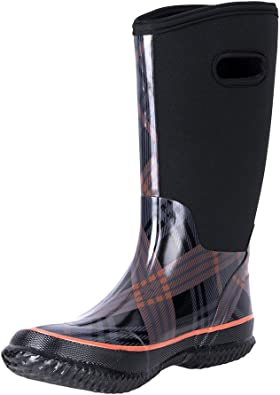 WTW Women's Rubber Neoprene Snow Boots