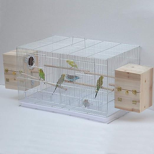 Jaula de pájaros de Metal Portabebés Bolsa de Aves Jaula de cría ...