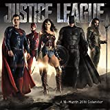 The Justice League (Movie) 2018 Wall Calendar