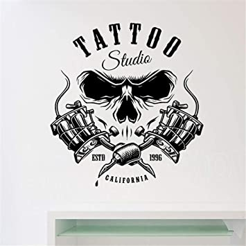pegatinas de pared Vinilo Salon TATTOO Studio Room ...