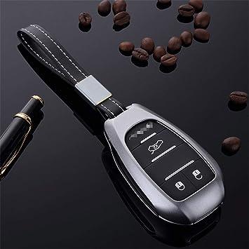 Luxury Aluminum Car Key Fob Pocket Case Cover For  Alfa Romeo Giulia Stelvio