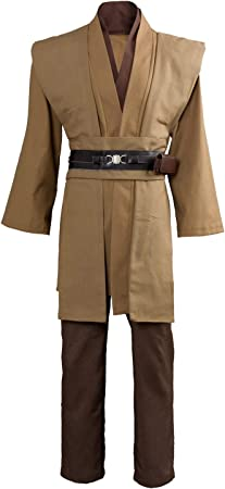 RedJade OBI WAN Kenobi Jedi Tunic Traje de Cosplay Disfraz ...