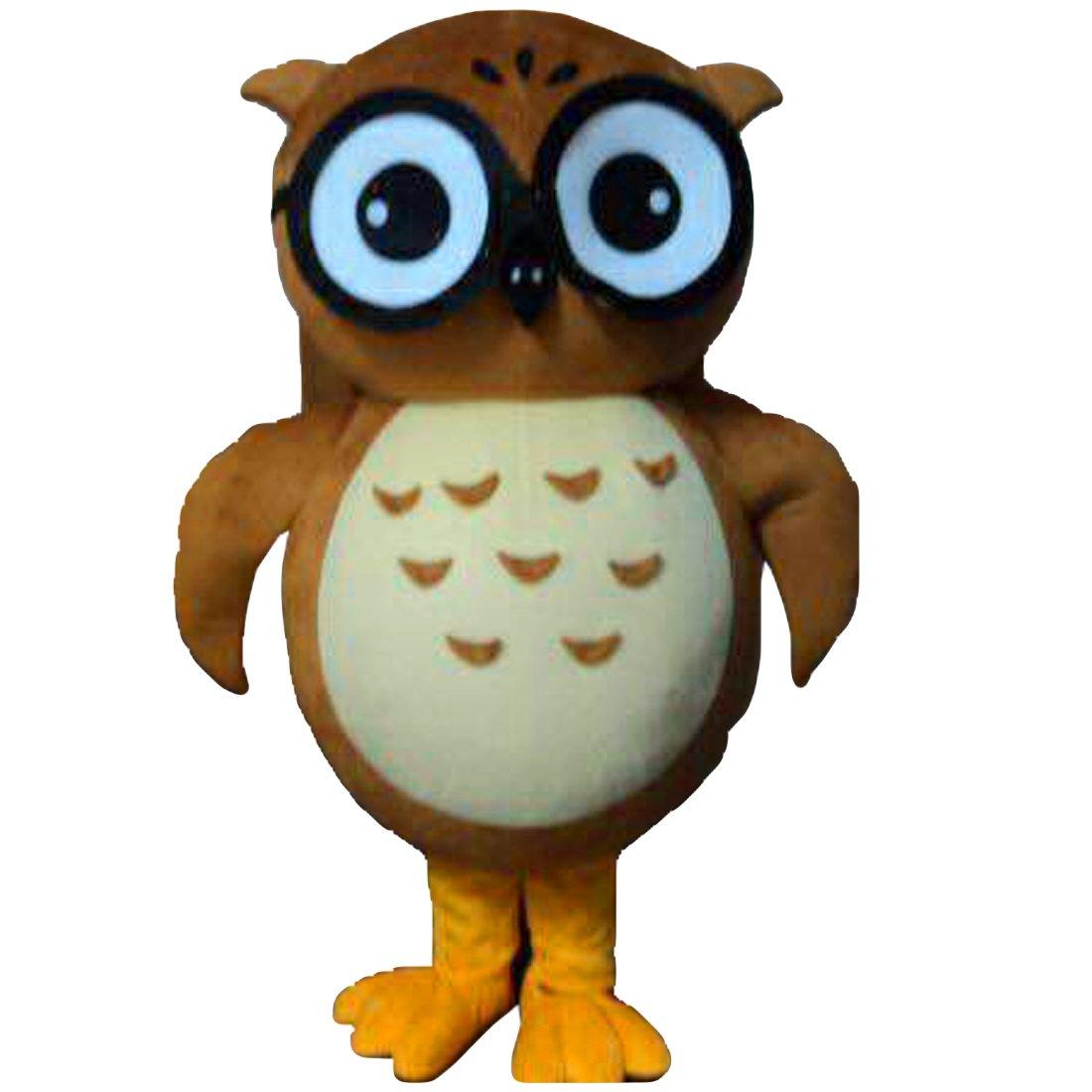 Disfraz de Búho, diseño de mascota carácter adulto Sz Real imagen ...
