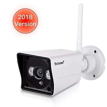 Sricam SP023 Cámara Wifi IP HD de seguridad al aire libre interior, hogar 1080P Seguridad