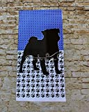 Personalized Pug Garden Flag