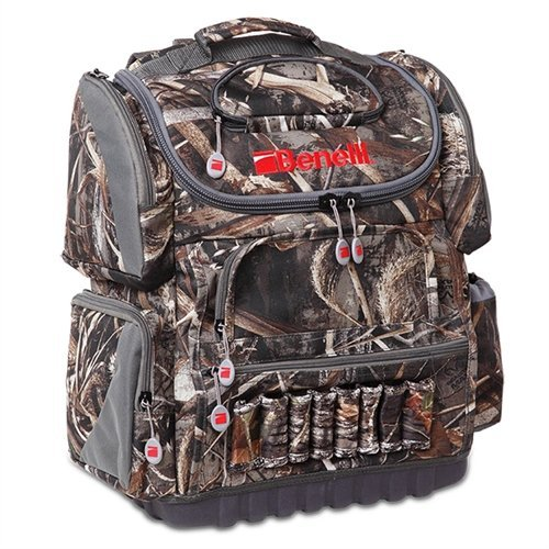 (BENELLI Ducker Backpack/Blind PVC Backed Bag, Max- Camo)