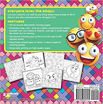 Emoji Crazy Coloring Book cheap - fortalezaeng.com.br