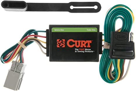 CURT 55336 Vehicle-Side Custom 4-Pin Trailer Wiring Harness for Select on trailer plugs, trailer brakes, trailer generator, trailer fuses, trailer hitch harness, trailer mounting brackets,