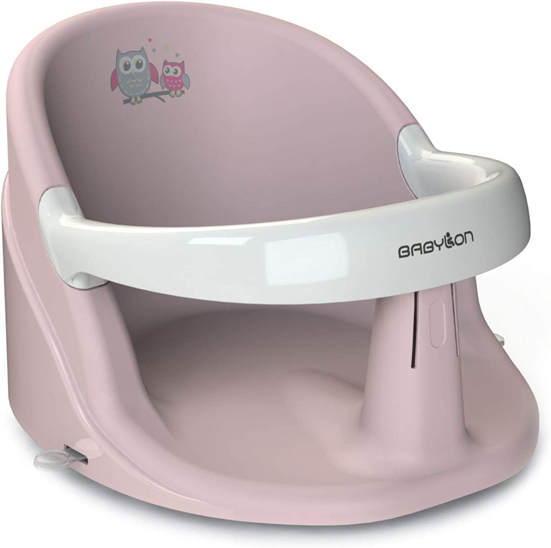 BABYLON asiento bañera bebe Nemo hamaca bañera bebe silla bañera bebe adaptador bañera bebe rosa