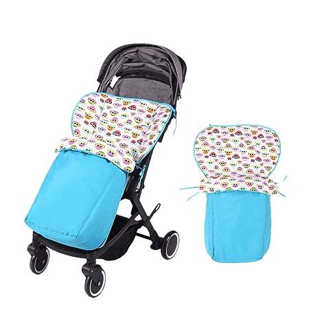 Per Colchonetas Silla de Paseo Universales para Bebés Saco de Abrigo Multifuncional para Cuatro Estaciones Cojines