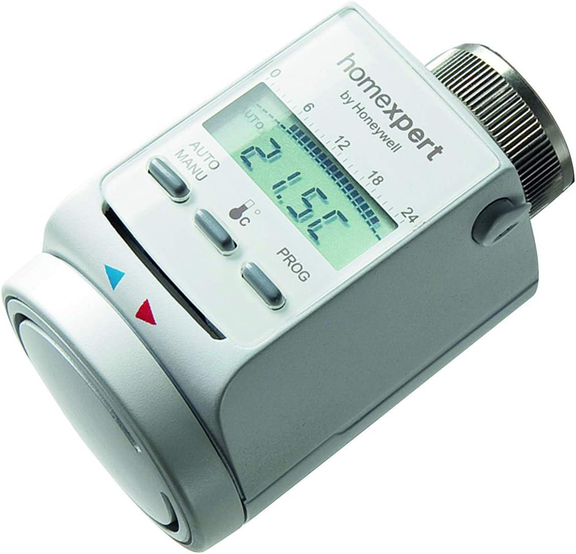 Honeywell Home Termostato electrónico de radiador con programa semanal, HR20-SE