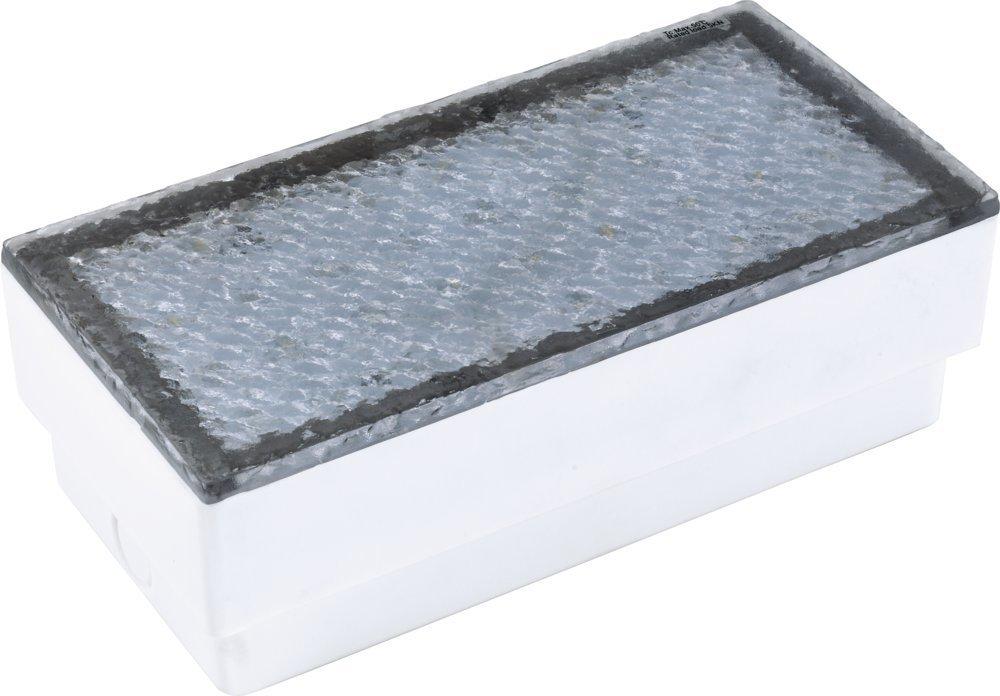 Heitronic 35928 A, Bodenleuchte, Kunststoff, transparent, 10 x 10,00 x 6,8 cm