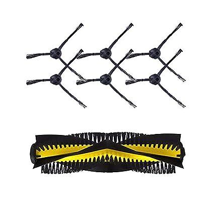 Zeling - Juego de 6 cepillos Laterales para aspiradora Chuwi ILIFE V7 V7S v7s Pro kitfort