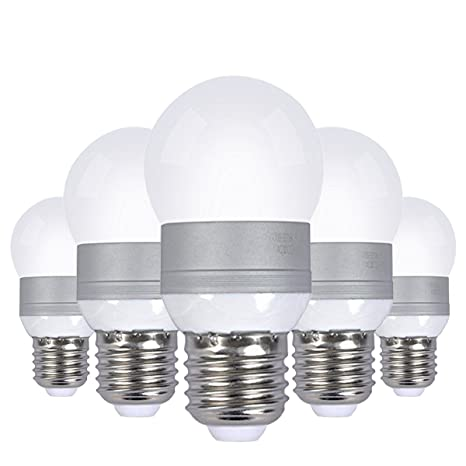 Sunthin – Bombilla LED E26 12 V, bombillas LED con batería solar