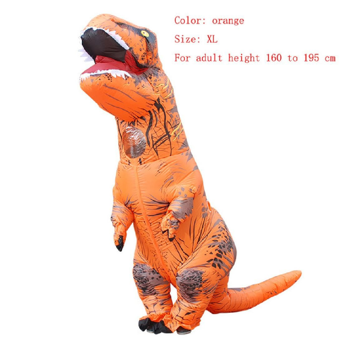 Inflatable Costume Christmas Cosplay Dinosaur Animal Jumpsuit Halloween Costume by Crystalbella Inflatable Cos