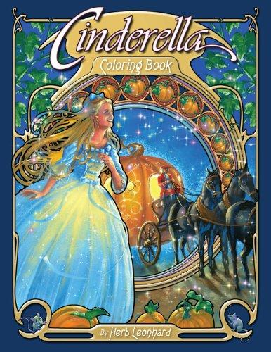 - Cinderella Coloring Book