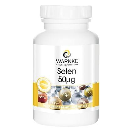 Selenio – sustancia pura – 100 comprimidos– 50µg