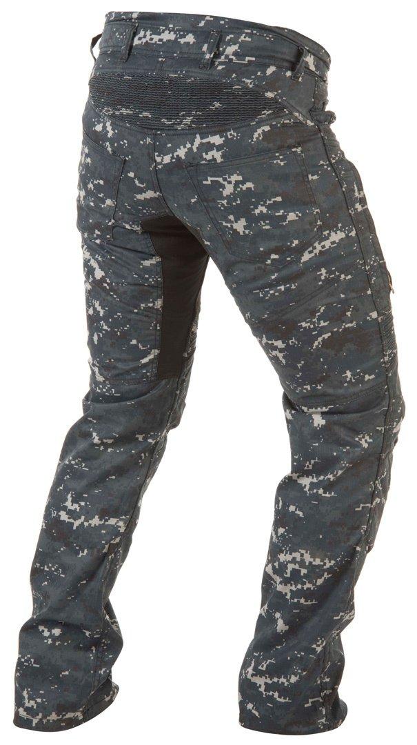 Trilobite Parado Jeans Digi Camo Herren Motorrad Hose Blau Protektoren Aramid Stretch L/änge 32 38066104