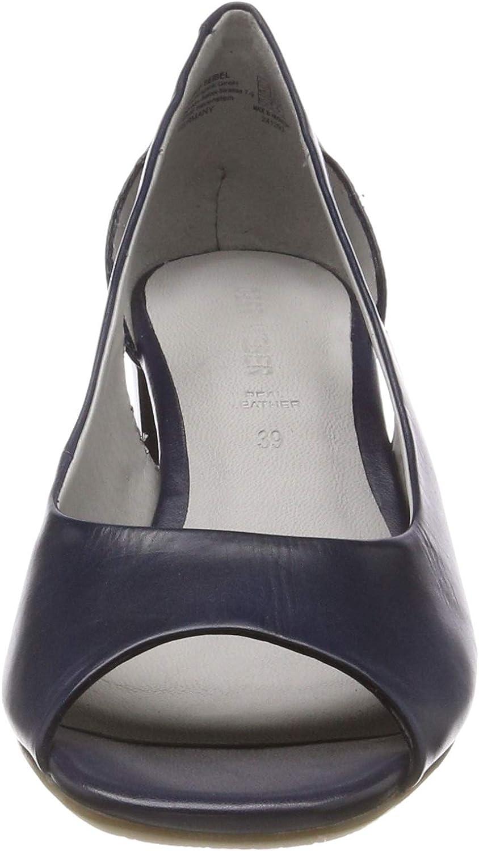 Gerry Weber Shoes Faro 03, Sandales Bout Ouvert Femme Bleu Kobalt 550