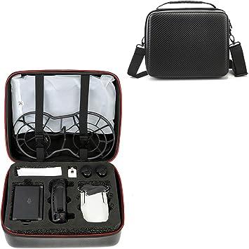 ZUJI Funda Impermeable para dji Mavic Mini Drone, PU Bolsa Transporte Estuche Protector Portátil - Negro: Amazon.es: Juguetes y juegos