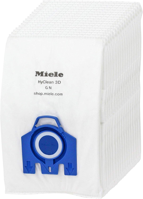 Sacchetti Filtro per Miele 3d Gn S5000//S8000 C2 C3 S5 S8 Aspirapolvere Blu//Red
