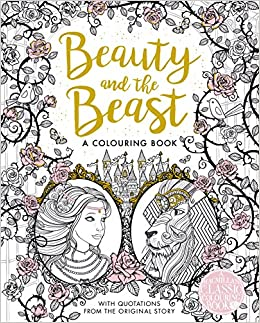The Beauty And The Beast Colouring Book Macmillan Classic Colouring