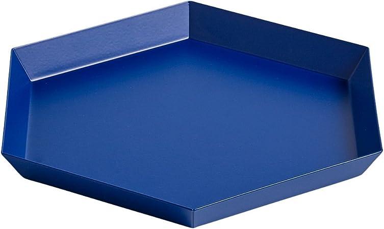 HAY 503934 Bandeja, acero, Azul real, con revestimiento de polvo ...