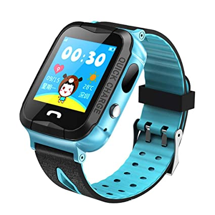 Amazon com: dianpo Russian Kids GPS Smart Watch 1 44 inch Color