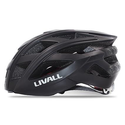 livall Smart casco de moto con Bling Jet controlador inalámbrico bluetooth ciclismo Armet Piloto Trasero SOS