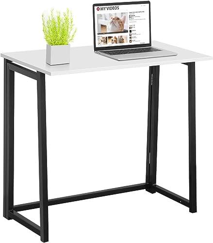 Home Office Folding Desk,Toolsempire 31.5 Foldable Computer Desks