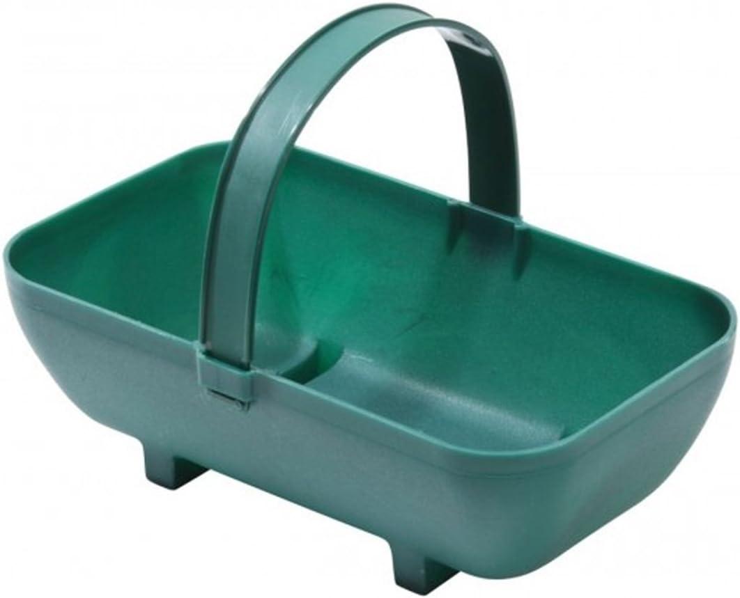 Tierra Garden Gp43blk Petit Panier Pot de Fleurs Plastique recycl/é Taille S Green