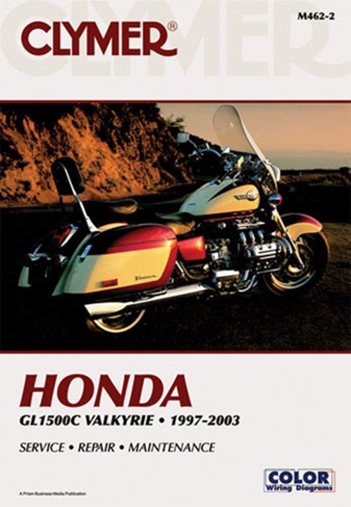 97 honda motorcycle wiring diagram amazon com clymer service manual for 97 00 honda gl1500c automotive  service manual for 97 00 honda gl1500c