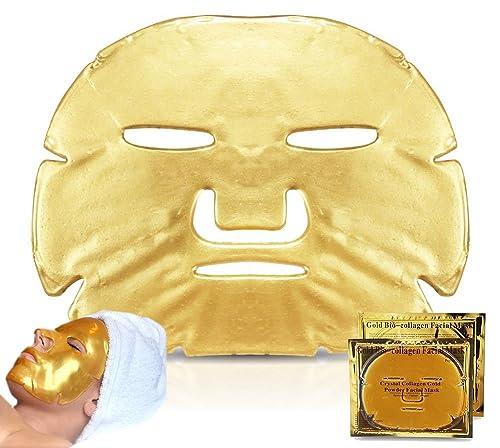 Gold Mask Gold Collagen Face Mask, Pack of 3