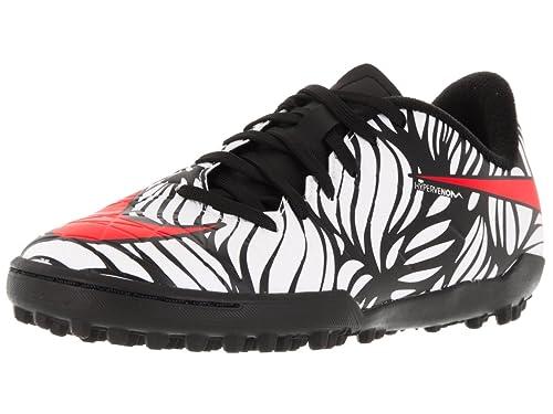 34656ee1fb7 Nike Youth Hypervenom Neymar Phelon II Turf Shoes  Black  (10C)