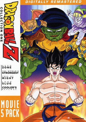 Dragon Ball Z - Movie Pack #1 Not Available Funimation! Unidisc Anime / Japanimation Cartoons & Animation